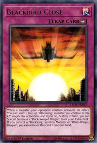YuGiOh! TCG karta: Blackbird Close