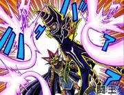 MW-036 Dark Magician protects the Pharaoh
