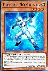 YuGiOh! TCG karta: Elemental HERO Neos Alius