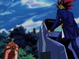 Yami Yugi and Weevil Underwood's Duelist Kingdom Duel