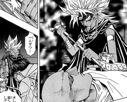 Dark Marik in the medical room