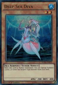 YuGiOh! TCG karta: Deep Sea Diva