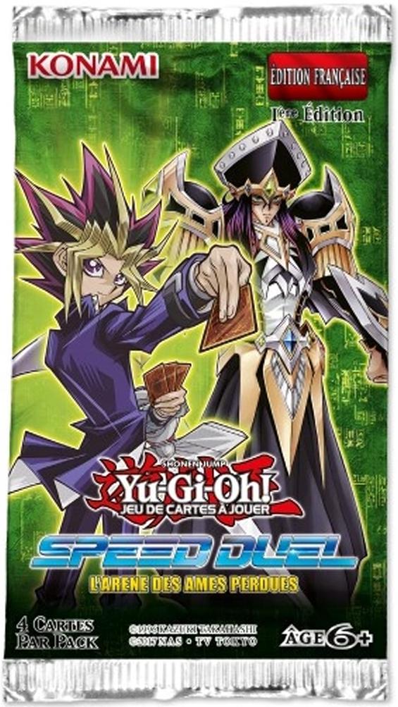 Yugioh Speed Duel Deutsch Arena Of Lost Souls 10 Booster