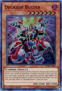 YuGiOh! TCG karta: Degrade Buster
