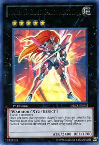 Number 12 Crimson Shadow Armor Ninja ORCS