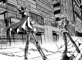 Dark Yugi and Katsuya Jonouchi's Duel (manga)