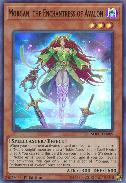 Morgan, the Enchantress of Avalon | Yu-Gi-Oh! | FANDOM ...