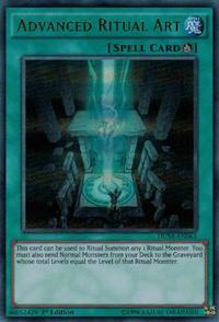 YuGiOh! TCG karta: Advanced Ritual Art