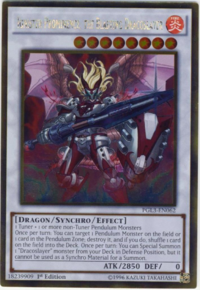 YuGiOh! TCG karta: Ignister Prominence, the Blasting Dracoslayer