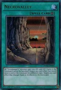 YuGiOh! TCG karta: Necrovalley