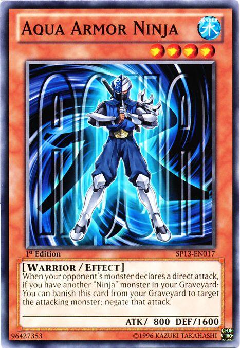 Aqua Armor Ninja | Yu-Gi-Oh! | FANDOM powered by Wikia