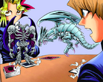 YGO-010 Blue-Eyes refuses to attack