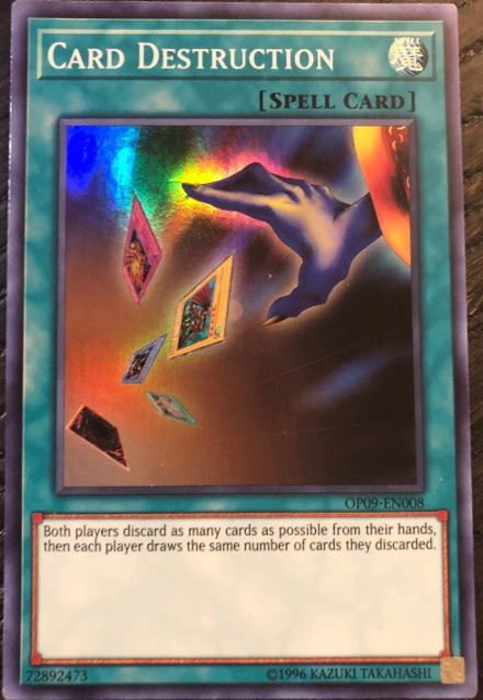 Card Destruction | Yu-Gi-Oh! Wiki | Fandom