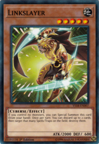 YuGiOh! TCG karta: Linkslayer