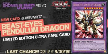 <i>Weekly Shonen Jump</i> October 2015 membership