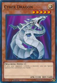 YuGiOh! TCG karta: Cyber Dragon