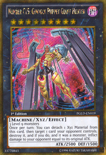 Number C15: Gimmick Puppet Giant Hunter | Yu-Gi-Oh ... Number C Yugioh