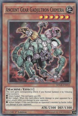 Ancient Gear Gadjiltron Chimera SDGR