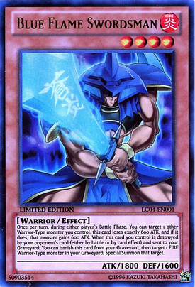 Blue Flame Swordsman LC04