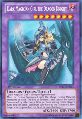Dark Magician Girl the Dragon Knight DRLG