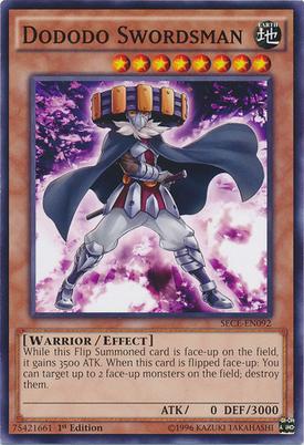 Dododo Swordsman SECE