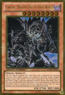 Grapha Dragon Lord of Dark World GLD5