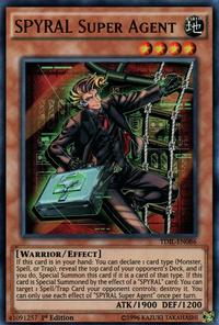 YuGiOh! TCG karta: SPYRAL Super Agent