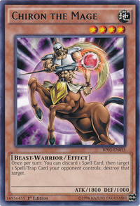 YuGiOh! TCG karta: Chiron the Mage