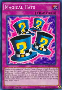YuGiOh! TCG karta: Magical Hats