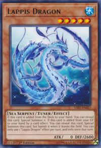 YuGiOh! TCG karta: Lappis Dragon