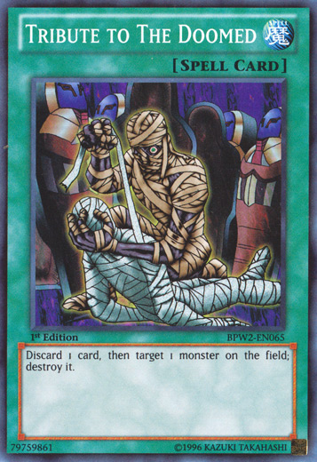 Hommage Aux Damnes BP01-FR066 Yu Gi Oh Tribute to the Doomed