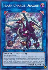 YuGiOh! TCG karta: Flash Charge Dragon