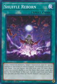 YuGiOh! TCG karta: Shuffle Reborn