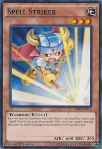 YuGiOh! TCG karta: Spell Striker