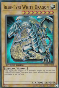 YuGiOh! TCG karta: Blue-Eyes White Dragon