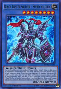 YuGiOh! TCG karta: Black Luster Soldier - Super Soldier