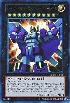 Superdimensional Robot Galaxy Destroyer REDU