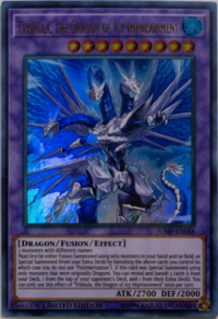 YuGiOh! TCG karta: Trishula, the Dragon of Icy Imprisonment