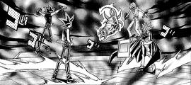 Dark Yugi and Dark Marik's Duel (manga)