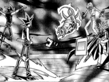 Dark Yugi and Dark Marik's Duel (manga)