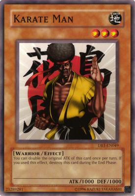 Karate Man DB1