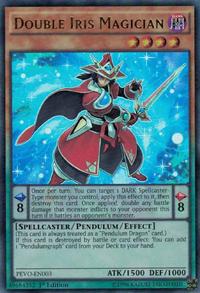 YuGiOh! TCG karta: Double Iris Magician
