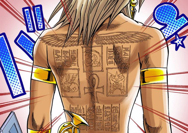 File:Marik's tattoos - manga.png