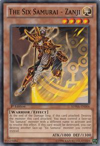 YuGiOh! TCG karta: The Six Samurai - Zanji