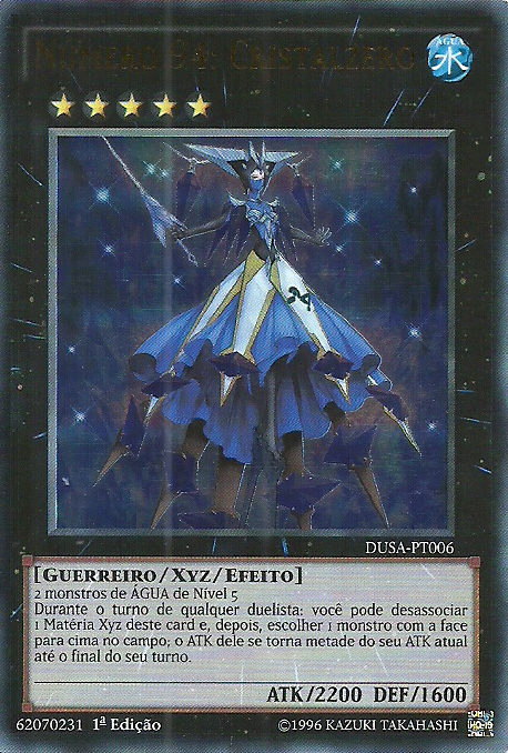 Number 94: Crystalzero | Yu-Gi-Oh! Wiki | FANDOM powered ...