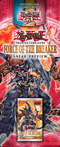Force of the Breaker Sneak Peek Participation Card
