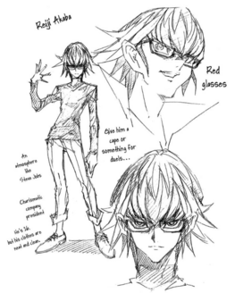 Reiji Manga Concept Art