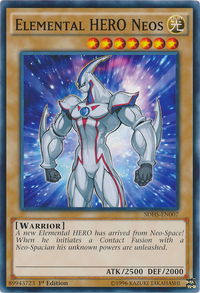 YuGiOh! TCG karta: Elemental HERO Neos