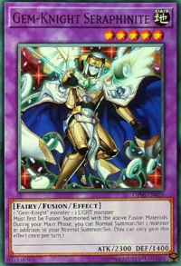 YuGiOh! TCG karta: Gem-Knight Seraphinite