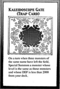 YuGiOh! TCG karta: Kaleidoscope Gate